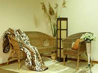 Набор плетенной мебели из ротанга №1(диван+кресло) и стол Ниагара