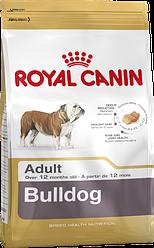 Royal Canin Bulldog Adult 3 кг - Полнорационный корм для породы английский бульдог старше 12 мес