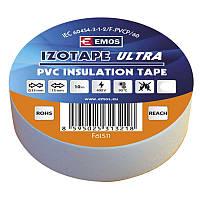 Изолента EMOS TAPE PVC 15/10 WHITE