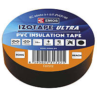 Изолента EMOS TAPE PVC 15/10 BLACK