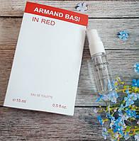 Женская туалетная вода Armand Basi in Red - 15 мл