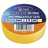Изолента EMOS TAPE PVC 15/10 YELLOW