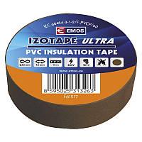 Изолента EMOS TAPE PVC 15/10 BROWN