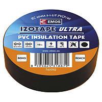 Изолента EMOS TAPE PVC 19/10 BLACK