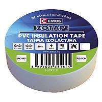 Изолента EMOS TAPE PVC 19/20 WHITE