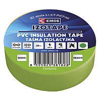 Изолента EMOS TAPE PVC 19/20 GREEN