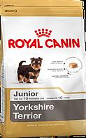 Royal Canin Yorkshire Terrier Junior 7,5 кг - Полнорационный корм для щенков породы йоркширский терьер в до 10