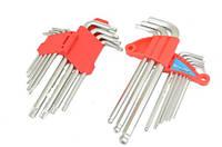 Набор ключ имбусовый IMBUS + TORX 18шт.