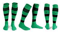 Гетры футбольные Liga Sport (р.р. 32-45, т.зеленый)