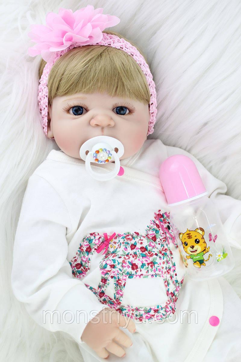 Очаровательная куколка реборн/ кукла reborn Полностю силикон