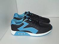 Подростковые черные кроссовки, р. 37(23.5см)