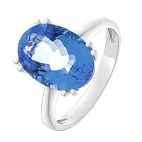 Серебряное кольцо Венди с кварцем цвета танзанит 000055343
