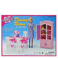 Меблі для ляльок Gloria Їдальня
