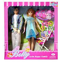 Кукла типа Барби Беременная семья