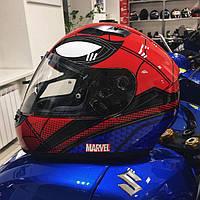 Новый HJC CS-15 в расцветке SPIDERMAN!