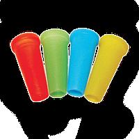 Мундштуки одноразовые цветные(Конус с бортом)