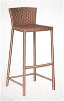 Барный стул из искусственного ротанга