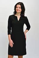 Оригинальное черное платье футляр с карманами размер 34, 36, 38, 40, 42.