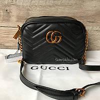 Женская маленькая сумка Gucci Гуччи Marmont , фото 1