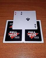 Покерные пластиковые карты FULL TILT