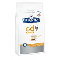 Hills Prescription Diet Urinary Care c/d Multicare Chicken Лечебный корм для нижних мочевыводящих путей у коше