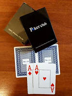Покерные карты 100% пластик.