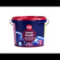 Краска фасадная с силиконовыми добавками Hansa Facade Vivacolor прозрачная