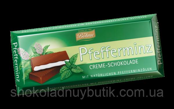 Шоколад с мятой Bohme Pfefferminz Creme-Schokolade.