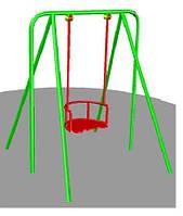 Качели на жесткой подвеске для детской площадки малые БК-721К