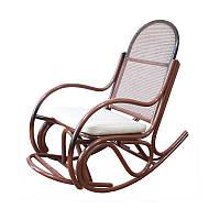 """Кресло-качалка  из ротанга """"Бриз №1"""" (с подножкой), фото 1"""