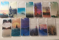 Защшитные пластиковые чехлы для iphone 6 6S в 3D