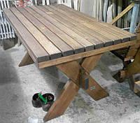 Стол из натурального дерева из комплекта Дельта 2м, фото 1