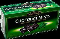 Шоколадные пластинки с мятной начинкой Maitre Truffout, 200г.