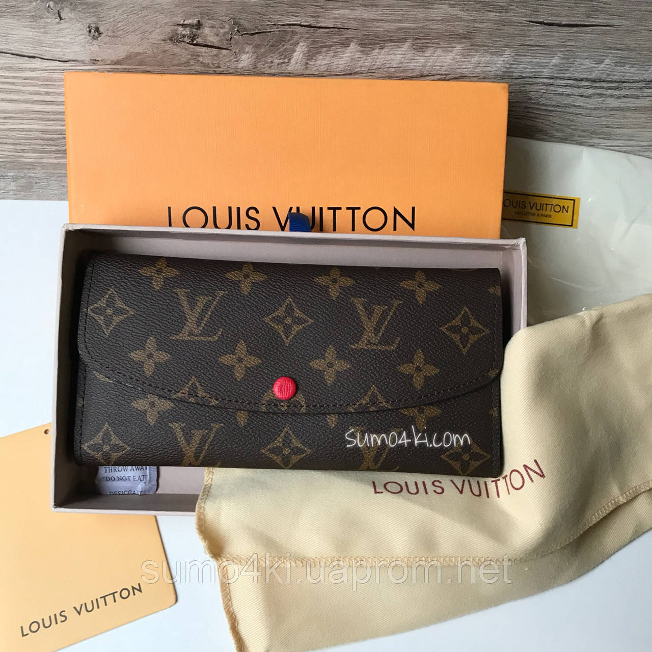 Женский кошелек Louis Vuitton Луи Виттон, фото 1