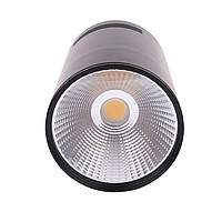 Светильник  светодиодный LED Downlight накладной COB 7W черный 3000К