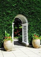 Арка Эдем-2 садовая для вьющих растений деревянная, фото 1