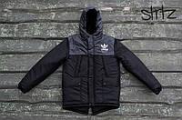 Молодежная Мужская зимняя куртка/парка/пуховик адидас (Adidas Originals)