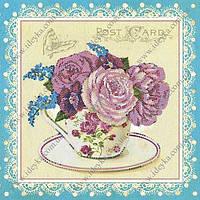 Вышивка бисером - Розы шебби шик