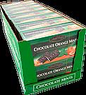 Шоколадные пластинки с мятно-апельсиновым вкусом Maitre Truffout., фото 2