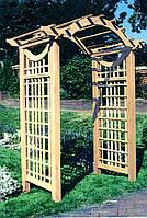 Арка Прованс-2 садовая для вьющих растений деревянная