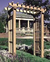 Арка садовая для вьющих растений деревянная  Шанхай-6 , фото 1