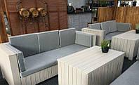 Стол 0,5м Тоскана Мебель садовая из натурального дерева