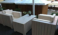 Кресло Тоскана-2 Мебель садовая из натурального дерева