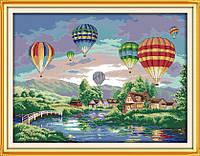 Вышивка крестиком/ Воздушные шары