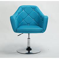 Парикмахерское кресло HC830 Бирюзовый