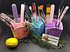 Пластиковый органайзер-подставка для косметики