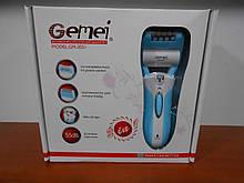 Эпилятор Gemei GM-3051 2 в 1 с бритвенной насадкой и LED подсветкой