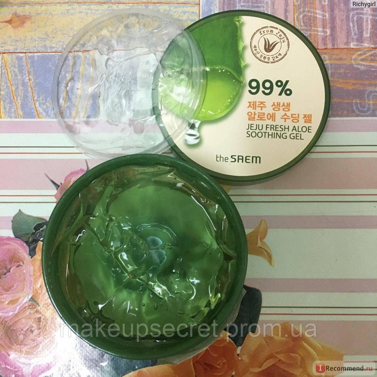 99 The Saem Jeju Shooting Gel Fresh Aloe