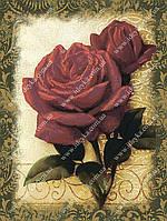 Вышивка бисером - Красные розы