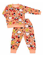 Пижама детская с начесом для мальчика и девочки